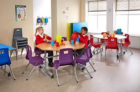 School Dining Room Furniture Tilt Top School Dining Table Circular School Dining Room Furniture