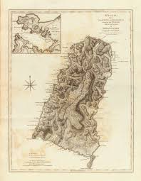 1775 Map Of Boston by 1775 Map Of St Lucia