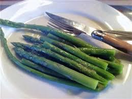 cuisiner l asperge asperges vinaigrette cuisiner avec micheline