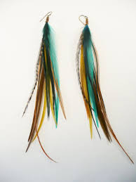 feather earing feather earrings jewelry