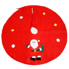 xm tree apron decoration diameter 90cm random style 1pc