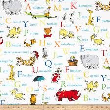 De Seuss Abc Read Aloud Alphabeth Book For Dr Seuss Abc Alphabet Words Adventure Discount Designer Fabric