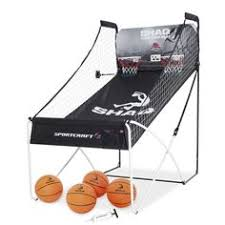 so classic sport x0604 indoor arcade hoops cabinet basketball game md sports 2 player arcade basketball game with 8 game options my