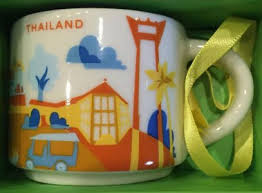 you are here ornament international starbucks mugs
