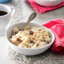 rice pudding taste of home