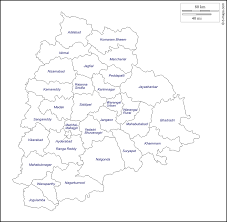 Blank Maps Of Asia by Telangana Free Map Free Blank Map Free Outline Map Free Base