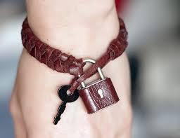 make leather woven bracelet images Diy braided padlock bracelet with key jpg