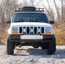 jeep cherokee lights zone worx jeep cherokee 3 tab light bar