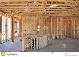 interior of new home construction stock photo image 70086705