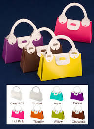 purse gift bags plastic purse shaped boxes us box corp