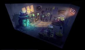 halloween laboratory props mad scientist laboratory 2 by cok3ster on deviantart