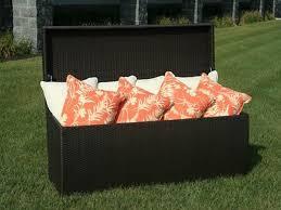 Outdoor Storage Bench Waterproof Black Outdoor Storage Bench Waterproof Great Outdoor Storage
