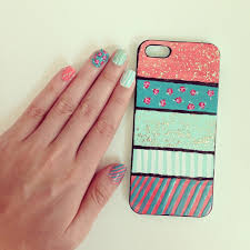 diy phone cases with nail polish