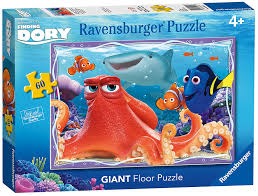 Floor 60 by Ravensburger Disney Finding Dory 60pc Giant Floor Jigsaw Puzzle