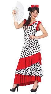 ladies spanish flamenco dancer fancy dress costume fancy me limited