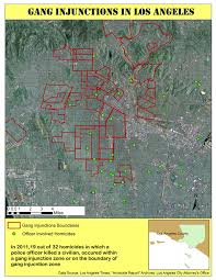 La Gang Map Mapping Police Violence In Los Angeles