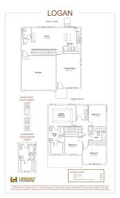 logan floor plan legacy homes omaha and lincoln