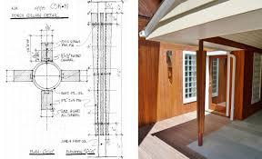 modern porch mid century modern porch column kent johnsson architect pllc
