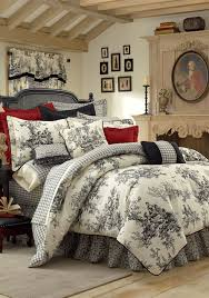 Red Gingham Duvet Cover Toilebeddingandlinens Com Toile Bedding And Linens Com Toile