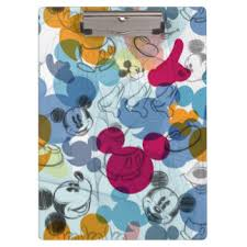 mickey mouse clipboards u0026 form holders zazzle