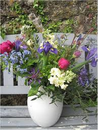 english country garden wedding flowers from the walled garden at