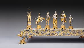 medici e pazzi medici vs pazzi family gold silver chess set