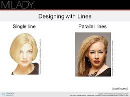 types of hair lines principles of hair design ppt download