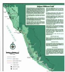 Mn State Parks Map Sinkyone Wilderness State Park Lost Coast Trails