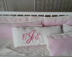lace crib bedding etsy