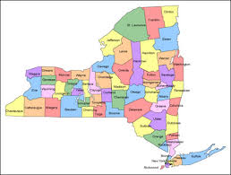 county map of ny york county map geology