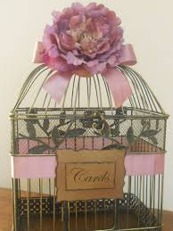 Wedding Gift Card Holder Wedding Gift Card Birdcage Lading For