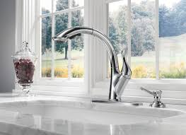 Delta Bellini Kitchen Faucet by Kitchen Touch On Kitchen Faucet Kohler Touch Faucet Delta