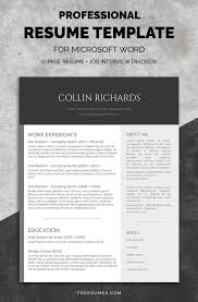 Resume Templates Best by 50 Best Resume Templates Design Graphic Design Junction