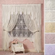 Lace Curtain Garland Lace Window Treatment