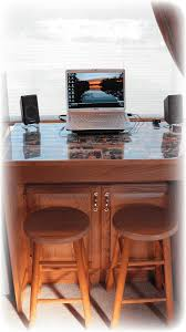 converted dining table into 4 in 1 cabinet desk fine homebuilding