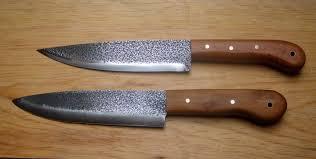 hand made kitchen knives hand made kitchen knives mill forge uk blades pinterest