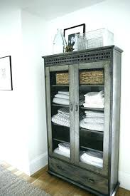 Bathroom Storage Cupboard Linen Storage Ideas Linen Cupboard Storage Free Standing Linen
