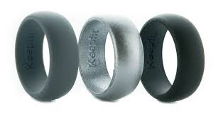rubber wedding band keepfit rings silicone wedding rings and bands keepfit products