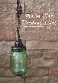 Jar Pendant Light Jar Pendant Light Domestic Imperfection
