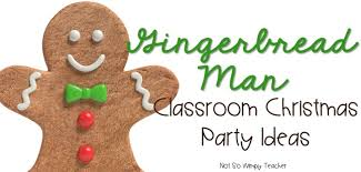 diary of a not so wimpy gingerbread themed classroom