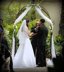 wedding arch rental jacksonville fl wrought iron garden wedding arch rentals by arc de miami
