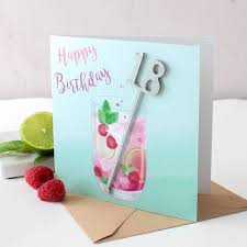 birthday cocktail birthday cocktail card by no ordinary gift company