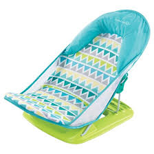 summer infant deluxe baby bather blue target