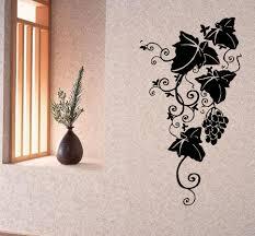 wall decals vinyl decal sticker art murals floral decor grape vine wall decals vinyl decal sticker art murals floral decor grape vine