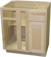 unfinished corner base kitchen cabinet quality one 36 x 34 1 2 blind kitchen corner base cabinet