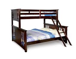 amazon com furniture of america steven bunk bed twin over queen amazon com furniture of america steven bunk bed twin over queen dark walnut kitchen dining