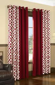 accessories stunning window treatment decor with grommet top