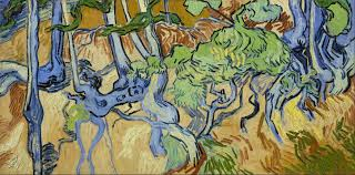 trees in the landscape 5 vincent van gogh and swirling cypresses vincent van gogh 1853 1890 tree roots and trunks 1890