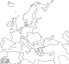 blank map of europe 1900 blank
