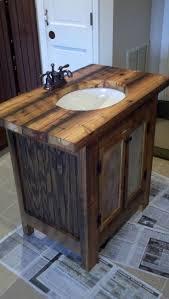 Rustic Bathroom Furniture Bathroom Extraordinary Rustic Bathroom Design Ideas Using Solid